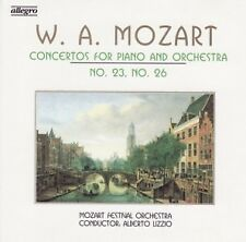W. A. MOZART-Concertos For Piano and Orchestra No. 23 & No. 26-CD -