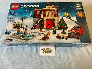Lego Christmas 10263 Winter Village Fire Station New/Sealed/Retired/Hard to Find