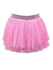 Pull On Netted Tutu Petticoat Skirt free size 8-14 underskirt prom half slip