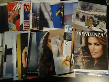 Cindy Crawford  60 full pages   Clippings