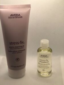 🌿Aveda Stress Fix Composition oil + Creme Cleansing oil SET 🌿 FAST FREE SHIP🌿