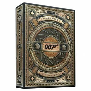 JKR10024956A Bicycle Playing Cards: Theory 11 James Bond 007