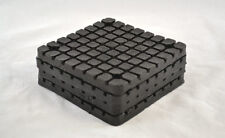 "Lift Pads For Bend Pack Square Bolt-On Molded Rubber Pad ( 5 1/2 x 5 1/2 x 1"")"
