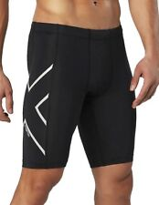 2XU Hyoptik Mens Compression Short Tights - Black