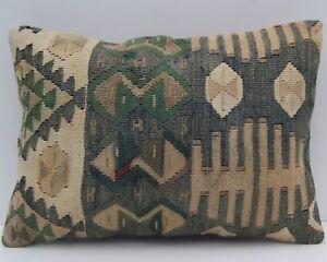 """20""""x14"""" Kurdish Van kelim pillow Handmade Kurdish kilim pillows kilim area rugs"""