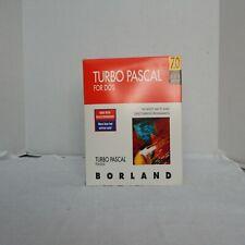 Turbo Pascal 7.0 Dos Version Borland