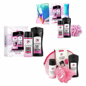 Lynx Attract for Her Womens Girls Christmas Gift Sets Selection Body Wash Spray
