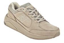 NEW BALANCE 928 Woman's Tan Walking Sneakers 1324 Size 8 Extra Wide