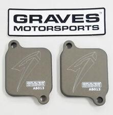 Suzuki GSX-R 1000 / 600 Smog Block Off Plates Graves AB013