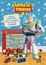 Toy Story Birthday Child Greeting Cards Invitations eBay