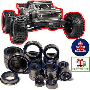 ARRMA OUTCAST 6S BLX 22 Piece FULL SEALED RC Car Bearings Set Kit Upgrade