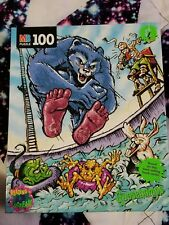 Vintage Goosebumps Puzzle 100 Piece Complete 1997 Monsters Beast from the East