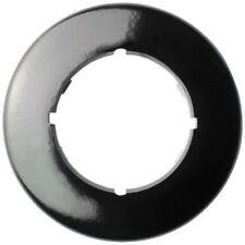 THPG Abdeckrahmen 1-fach rund Bakelit schwarz