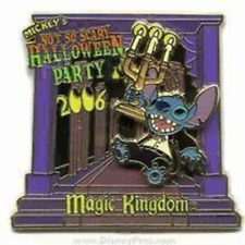 Disney Pin 49684 WDW MNSSHP 2006 Haunted Mansion Stitch Halloween Party LE