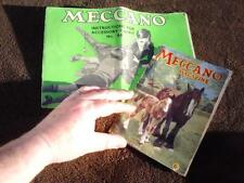 Vintage Meccano magazine XX1X No 4 April 1944 + instruction book outfit No 4a