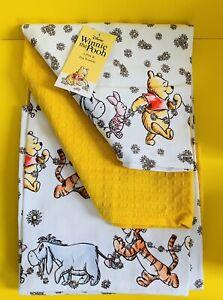 New Tagged Disney Winnie The Pooh Tea Towel 3 Pack Kitchen Dishcloths Cotton