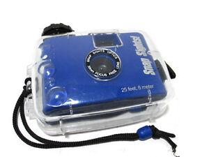 Intova Snap Sights SS04 Underwater Reusable Camera 25' Depth Rating Blue