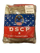 USGI Pack of 3 T SHIRTS,100% COTTON, FOLIAGE GREEN, USA MADE GENUINE DSCP, SMALL
