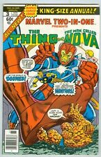 Marvel Two-In-One: Annual #3 VG 1978 Nova