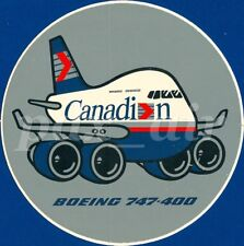 CANADIAN INTERNATIONAL LTD BOEING 747-400 STICKER