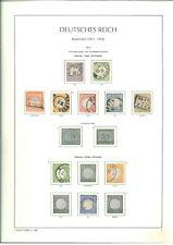 Spitzen Sammlung Deutsches Reich 1872-1923 sehr vieles BPP geprüft - Mi 10.200,-