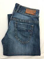 Women's Tommy Hilfiger Denim Laurie Mid Blue Stretch Jeans | W32 L26