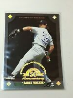 F43822 1998 Leaf Fractal Foundations/3999 Larry Walker Rockies