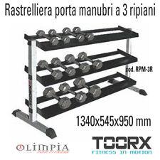 Toorx - RPM-3R - Nuova RASTRELLIERA ESPOSITORE PORTA MANUBRI A 3 RIPIANI