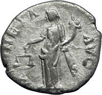 SEPTIMIUS SEVERUS 194AD Alexandria mint Silver Ancient Roman Coin MONETA i70198