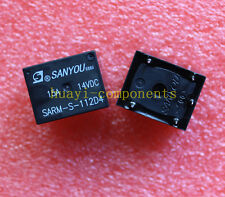 5pcs SARM-S-112D4 ORIGINAL SANYOU 12VDC Relay NEW