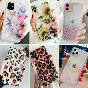 Bling Glitter Case Girls Phone Cover for iPhone 12 Pro Max 11 7 8 Plus XR XS Max