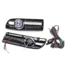 Car FOG Light Fit FOR VW JETTA BORA MK4 99-04 Plus LED DRL Blue Lens