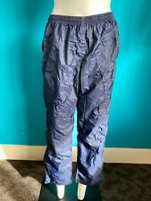 Technical Ladies Navy Blue Waterproof Trousers Size M