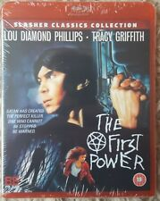 The First Power  Blu-Ray Lou Diamond Phillips 88 films Uncut Horror NEW & SEALED