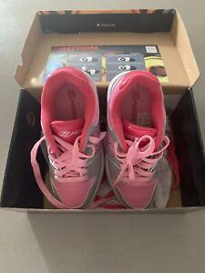 Girls Size 4 Pink Heelys