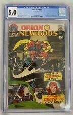 New Gods #3 CGC 5.0 1971 Jack Kirby 1st Appearance Black Racer DC Comics ORION