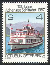 Austria 1987 Boats/Ships/Ferry/Mountain/Transport/Maritime/Nautical 1v (n23825)
