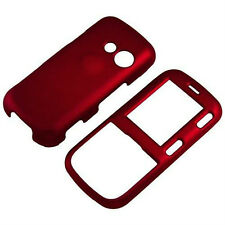 NEW SNAP ON CELL PHONE COVER FOR LG RUMOR 2 II / COSMOS 1 LX265 RED
