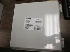 Hoffman Polycarbonate Enclosure E212113ppg Nema 4x Enclosure Inculdes Backplate