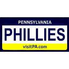 Phillies Pennsylvania State License Plate