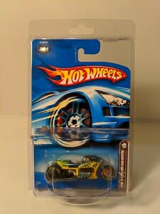 Airy 8 Motorcycle- 2006 Hot Wheels Mail in Mystery car -  1/64 yellow