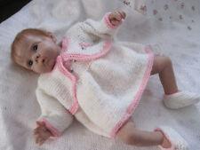 Hand Knit Pattern: Baby/Reborn: Daniella HKB278 by Frandor Formats