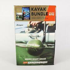Deeper Smart Sonar Chirp Smartphones Castable Wifi -Fish Finder Kayak Bundle New