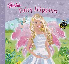 Barbie, Fairy Slippers, New Hardback Book