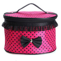 Portable Beauty Toiletry Case Organizer Handbag Makeup Cosmetic Wash Travel Bags