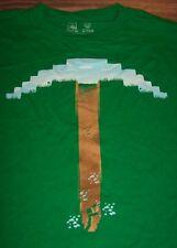 MINECRAFT PICKAXE T-Shirt YOUTH MEDIUM