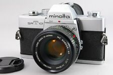 [Exc++++] Minolta SRT 101 35mm SLR w/ MC Rokkor PF 50mm f/1.7 From Japan #00067