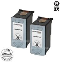2PK PG40 PG-40 for Canon 0615B002 BLACK Print Cartridge Pixma ip1700 ip1800 2600