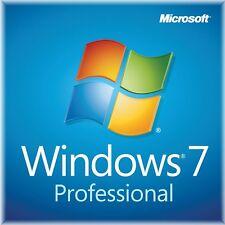 Windows 7 Professionnel 32/64 bits Clé d'activation dans le monde entier
