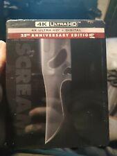 Scream (4K UHD + Blu-ray + Digital) Steelbook BRAND NEW Bestbuy SEALED